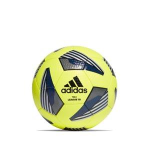 Balón adidas Tiro League TB tallla 4 - Balón de fútbol adidas Team talla 4 - amarillo flúor y azul - frontal
