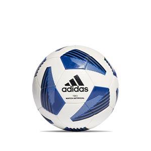 Balón adidas Tiro League Artificial IMS talla 4 - Balón de fútbol adidas para césped artificial talla 4 - blanco, azul - frontal