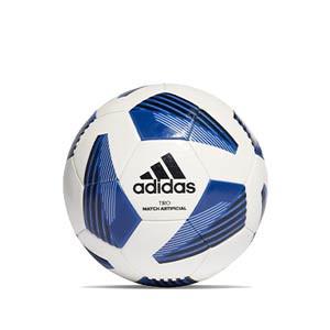 Balón adidas Tiro League Artificial IMS talla 5 - Balón de fútbol adidas para césped artificial talla 5 - blanco, azul - frontal