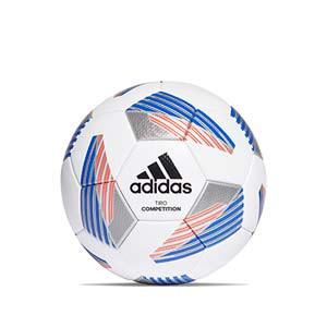Balón adidas Team Competition talla 5 - Balón de fútbol adidas Team talla 5 - blanco y azul - frontal