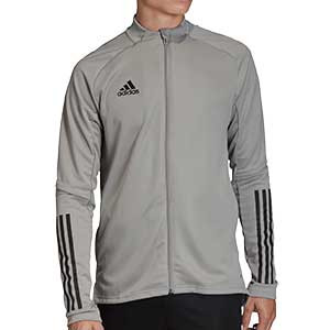 Chaqueta adidas Condivo 20 - Chaqueta de entrenamiento de fútbol adidas - gris - frontal