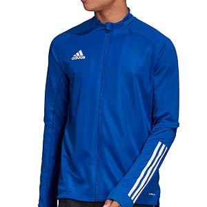 Chaqueta adidas Condivo 20 - Chaqueta de entrenamiento de fútbol adidas - azul - frontal