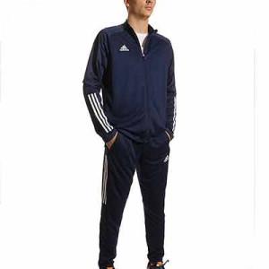Chándal adidas Condivo 20 entrenamiento - Chándal de entrenamieno de fútbol adidas - azul marino