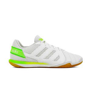 adidas Top Sala - Zapatillas de fútbol sala adidas suela lisa - blancas - pie derecho