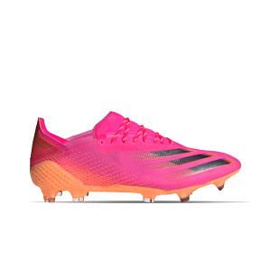 adidas X GHOSTED.1 FG - Botas de fútbol adidas FG para césped natural o artificial de última generación - rosas - derecho