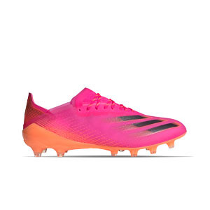 adidas X GHOSTED.1 AG - Botas de fútbol adidas AG para césped artificial - rosas - derecho