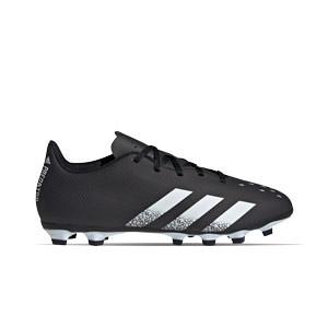 adidas Predator FREAK .4 FxG - Botas de fútbol adidas FxG para múltiples terrenos - negras, blancas