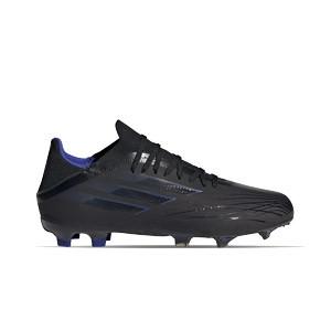 adidas X SPEEDFLOW.1 FG J - Botas de fútbol infantiles adidas FG para césped natural o artificial de última generación - negras