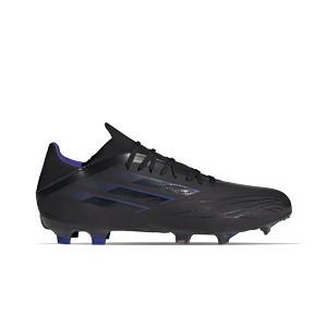 adidas X SPEEDFLOW.2 FG - Botas de fútbol adidas FG para césped natural o artificial de última generación - negras