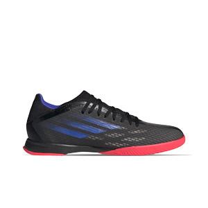 adidas X SPEEDFLOW.3 IN - Zapatillas de fútbol sala adidas suela lisa IN - negras