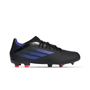 adidas X SPEEDFLOW.3 FG J - Botas de fútbol infantiles adidas FG para césped natural o artificial de última generación - negras