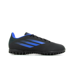adidas X SPEEDFLOW.4 TF - Zapatillas de fútbol multitaco adidas suela turf - negras