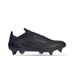 adidas X SPEEDFLOW.1 SG - Botas de fútbol adidas SG para césped natural blando - negras