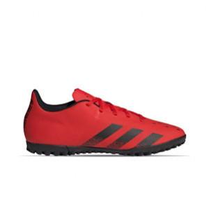adidas Predator FREAK .4 TF - Zapatillas de fútbol multitaco adidas suela turf - rojas