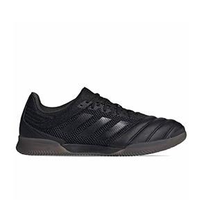 adidas Copa 20.3 IN Sala - Zapatillas de fútbol sala de piel adidas suela lisa IN - negras - miniatura