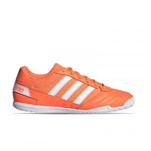 adidas Super Sala - Zapatillas de fútbol sala adidas suela lisa - naranjas - derecho