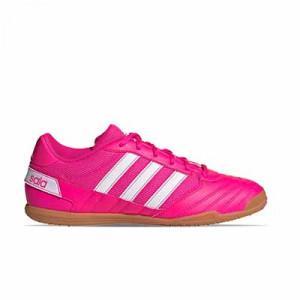 adidas Super Sala - Zapatillas de fútbol sala adidas suela lisa - rosas - pie derecho