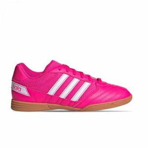 adidas Super Sala J - Zapatillas de fútbol sala para niño adidas suela lisa - rosas - pie derecho