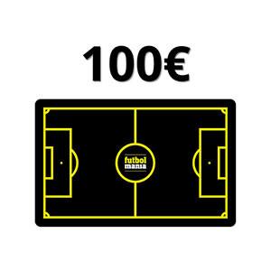 Tarjeta Regalo 100 euros futbolmania