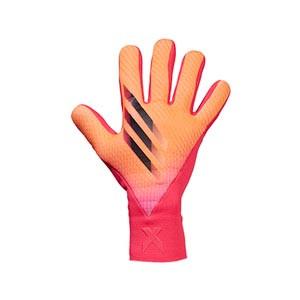 adidas X Pro - Guantes de portero profesionales adidas corte negativo - rosas