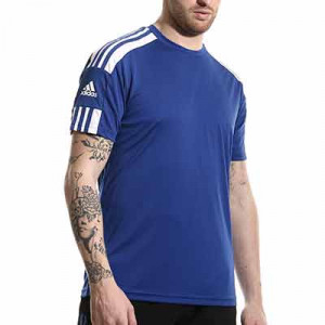 Camiseta adidas Squadra 21 - Camiseta de manga corta adidas - azul - completa frontal