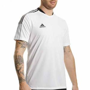 Camiseta adidas Tiro 21 - Camiseta de manga corta adidas - blanca