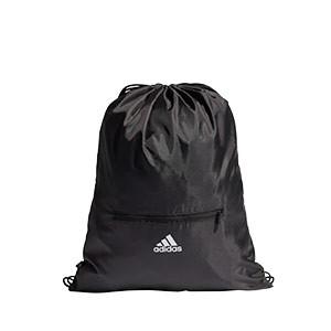 Gymbag adidas 3 Stripes - Mochila de cuerdas adidas - negra