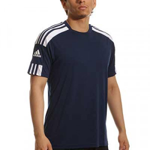 Camiseta adidas Squad 21 - Camiseta de manga corta adidas - azul marino - completa frontal