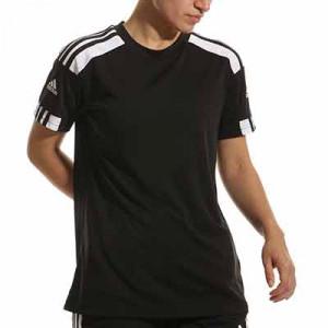 Camiseta adidas Squad 21 mujer - Camiseta de manga corta de mujer adidas - negra - miniatura