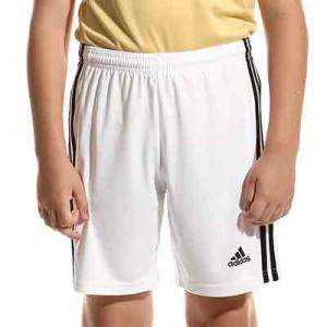 Short adidas Squadra 21 niño - Pantalón corto infantil adidas - blanco - miniatura