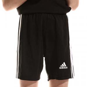 Short adidas Squadra 21 niño - Pantalón corto infantil adidas - negro - completa frontal