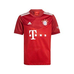 Camiseta adidas Bayern niño 2021 2022 - Camiseta infantil primera equipación adidas Bayern de Munich 2021 2022 - granate
