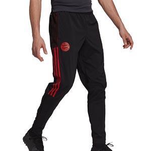 Pantalón adidas Bayern Presentación - Pantalón largo de chándal adidas del Bayern de Múnich - negro