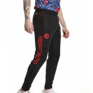 Pantalón adidas Bayern entrenamiento - Pantalón largo de entrenamiento adidas del Bayern de Múnich - negro - completa frontal