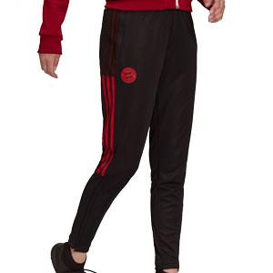 Pantalón adidas Bayern mujer entrenamiento - Pantalón largo de mujer entrenamiento adidas del Bayern - negro