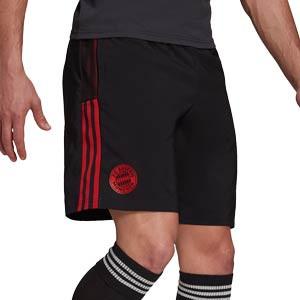 Short adidas Bayern Downtime  - Pantalón corto de paseo adidas del Bayern de Múnich - negro