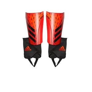 adidas Predator Match - Espinilleras de fútbol adidas con tobillera protectora - rojas