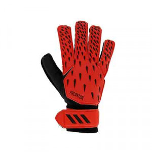 adidas Predator Training - Guantes de portero adidas corte positivo - rojos