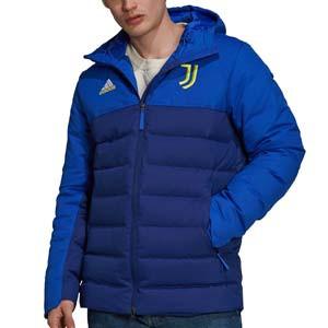 Chaqueta adidas Juventus Seasonal Special Down Time - Abrigo de invierno acolchado adidas de la Juventus - azul