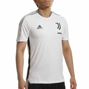 Camiseta adidas Juventus entrenamiento - Camiseta de entrenamiento adidas de la Juventus - blanco hueso - completa frontal