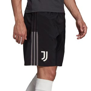 Short adidas Juventus Downtime - Pantalón corto de paseo adidas de la Juventus - negro