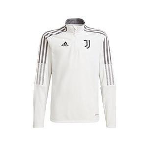 Sudadera adidas Juventus niño entrenamiento - Sudadera de entrenamiento infantil adidas de la Juventus - blanco - frontal