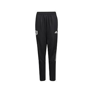 Pantalón adidas Juventus niño entrenamiento - Pantalón largo infantil de entrenamiento adidas de la Juventus - negro - frontal