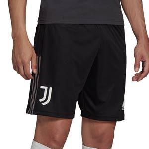 Short adidas Juventus entrenamiento - Pantalón corto entrenamiento adidas Juventus - negro - frontal