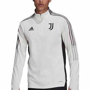 Sudadera adidas Juventus Warm - Sudadera de entrenamiento de invierno adidas de la Juventus - blanco hueso