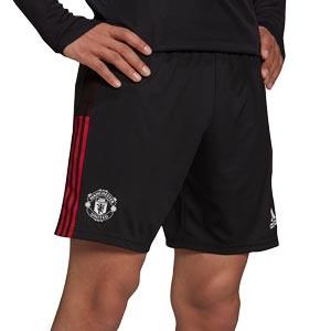 Short adidas United entrenamiento - Pantalón corto de entrenamiento adidas del Manchester United - negro
