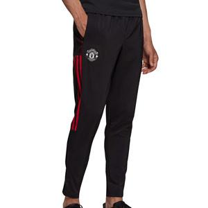 Pantalón adidas United presentación - Pantalón largo de chándal adidas del Manchester United - negro
