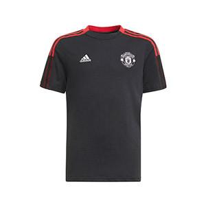 Camiseta algodón adidas United niño entrenamiento