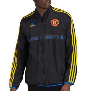 Chaqueta adidas United Icon - Chaqueta chándal adidas del Manchester United - negra
