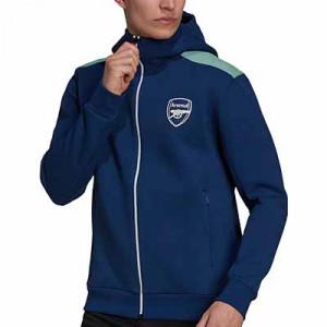 Chaqueta adidas Arsenal ZNE - Chaqueta con capucha adidas Arsenal - azul marino